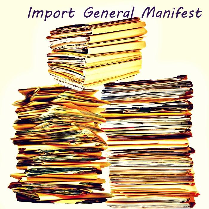 Import General Manifest (IGM)
