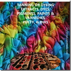 32 TANNING OR DYEING EXTRACTS, DYES, PIGMENTS, PAINTS