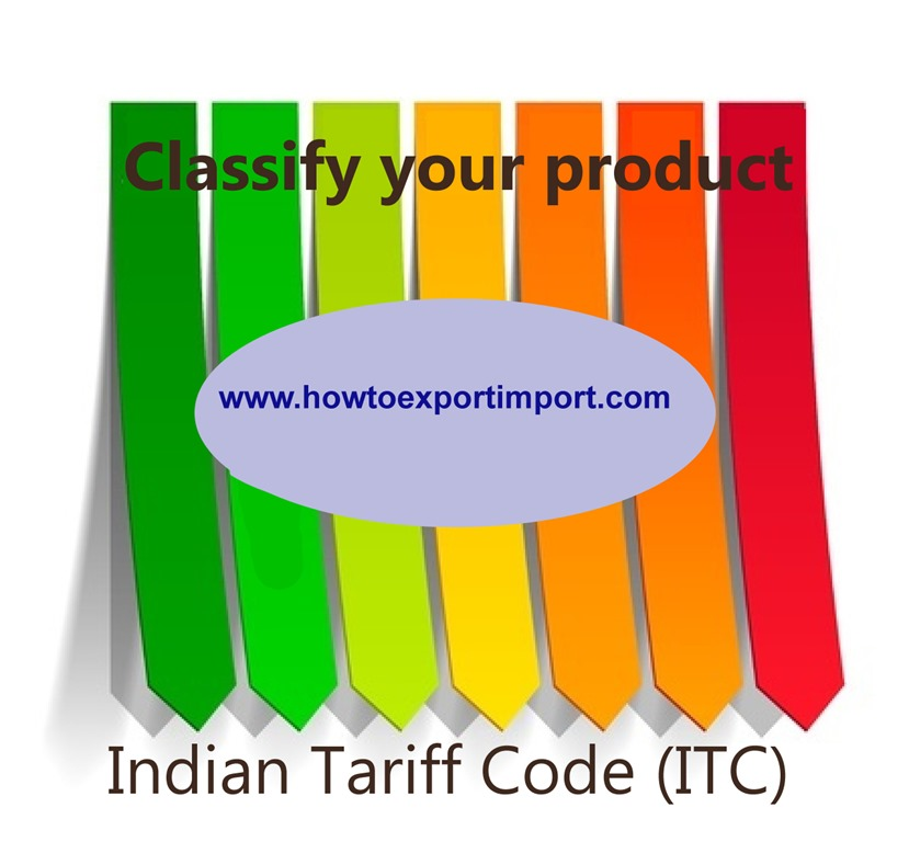 Indian Tariff Code (ITC) Chapter 01 to 98