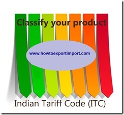 Indian Tariff Code Itc Chapter 01 To 98