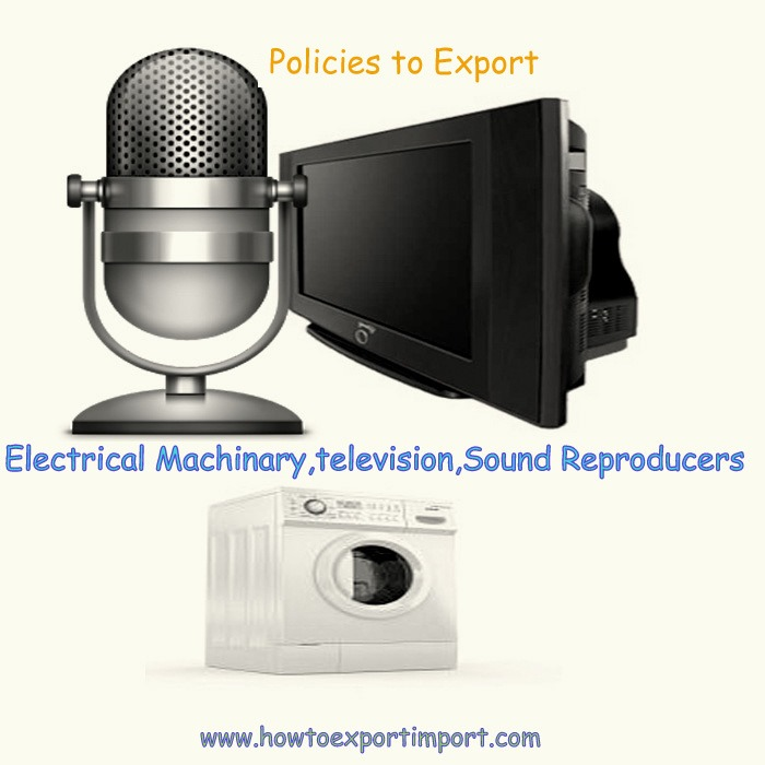 And For Tariff Electrical itc Indian Equipments Code Machinery