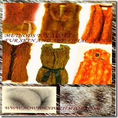43 fur skin and artificial skin