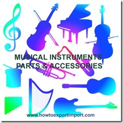 ITC for  MUSICAL INSTRUMENTS, PARTS  ACCESSORIES