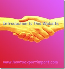 Introduction to this web site copy