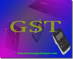 Is GST rate applicable for Sound recording service