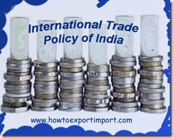 International Trade Policy of India 2015-20 b