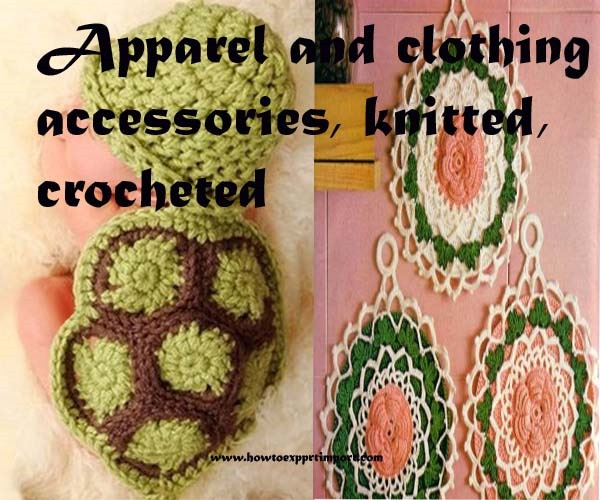 Methods to export apparel and clothing accessories, knitted