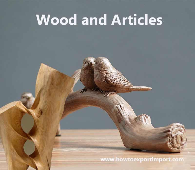 Methods To Export Wood And Articles Of Wood Wood Charcoal
