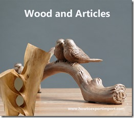 wood and articles