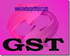 Nil GST on Services by sponsorship of sporting events organised by a national sports federation