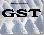 Nil rate of GST on sale of sago pith