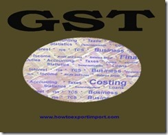 No GST on Services of general insurance under National Agricultural Insurance Scheme