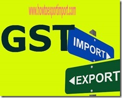 Online business and GST mechanism in India, handling input and output
