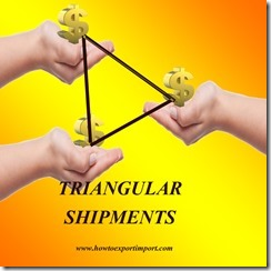 Payment procedures in Triangular exports copy