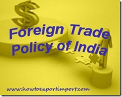 Foreign Trade Policy of India 2015-20 c