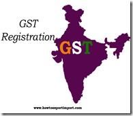 Procedures to get GST Registration number for IT exempted proprietorship firms