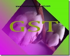 Rate of GST for woven fabrics of paper, Paper Yarn, other vegetable textile fibers etc.