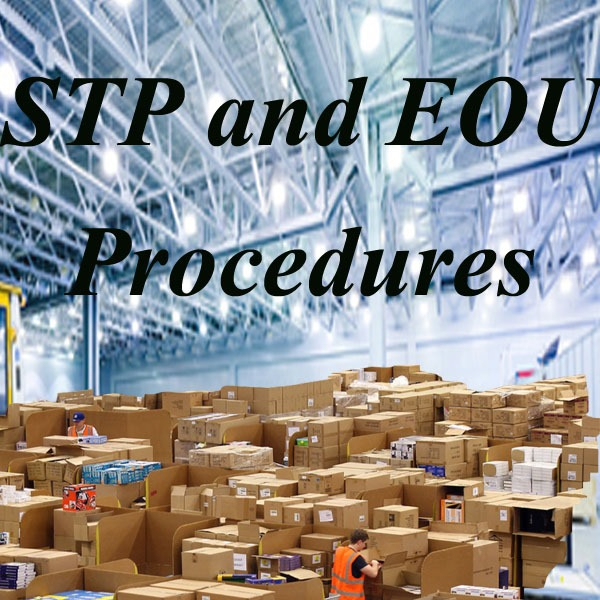 Re warehousing procedures under STP and EOU units