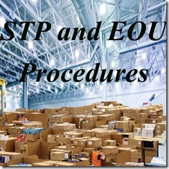 Re warehousing procedures under STP and EOU units copy