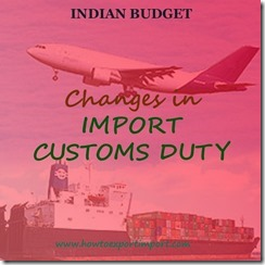 Reductions on Water Blocking Tape, EPDM and Mica glass tape etc,Indian Budget 2015-16