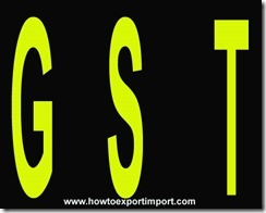 Live Animals, GST rates