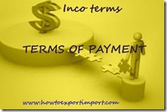 Terms of Payment in Export and Import copy