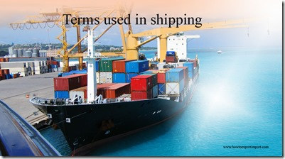 Terms used in shipping such Registry of Seamen, Release, Relay, Reinst.,Restricted,Restitution,Revenue Ton etc