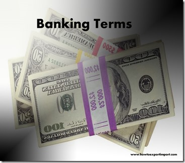 The terms used in banking  business such as Controlling Shareholder,Convertible Security,Convexity,Converting Bank etc