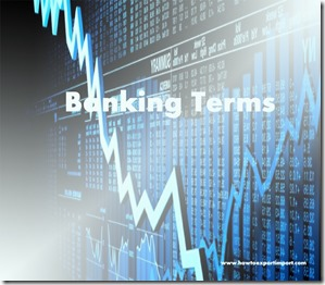 The terms used in banking  business such as Indemnifier, Indebtedness,Indirect financing,Indenture etc