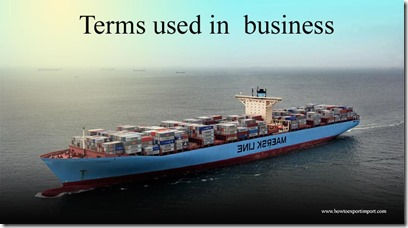Terms used in  business such as Air Waybill,Alpha Test,Amalgamation,Anchor Tenant,Andean Pact,Annuity etc