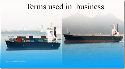 Terms used in  business such as Countersign, Courier, Cowboy, Credit Crunch,Credit history,Credit Analysis,Credit Rating Agency etc