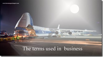 The terms used in  business such as Reciprocity,Reconsignment,Record keeping, Recruit  etc