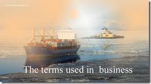 The terms used in  business such as Title Deed ,Top Brass,Tort,Touch Base,Trade Balance,trade barrier etc