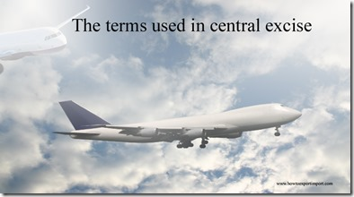 The terms used in central excise such as Cost Allocation Plan,Central Business District,Center for Disease Control  etc