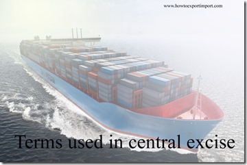 Terms used in central excise such as Transportation Research Board,Travel ,Types of Customs Duties