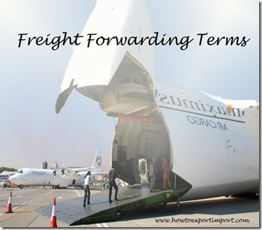 Terms used in freight forwarding such as Special-Commodities Carrier,Stability,Stack Car,Steamship conference,
