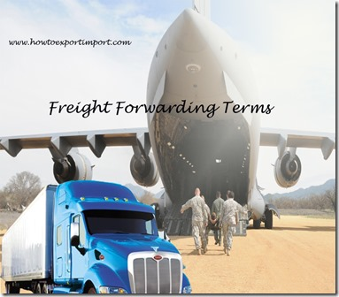 Terms used in freight forwarding such as Subrogation, Supply Chain Execution,Supply Chain,surety,Surcharge,SWIFT,TACT Rate, etc