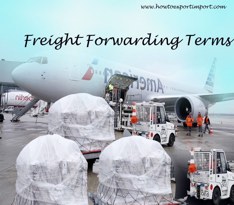 Terms Used In Freight Forwarding Such As Trailer Interchange Receipt