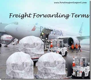 Terms used in freight forwarding such as Trailer Interchange Receipt,Trailer on Flat Car,Traceability,