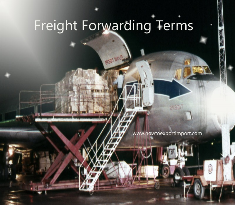 Used Car Warehouse: Terms Used In Freight Forwarding Such As Vehicle Transfer