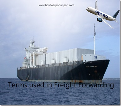 Terms used in freight forwarding such as Amended BL,Clean BL,Bill of Material,Bill of Material Accuracy etc