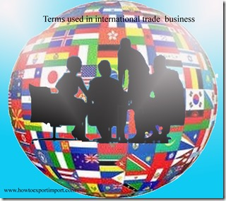 Terms used in international trade  business such as Certificate of inspection,Certificate of free sale,Certificate of manufacture,