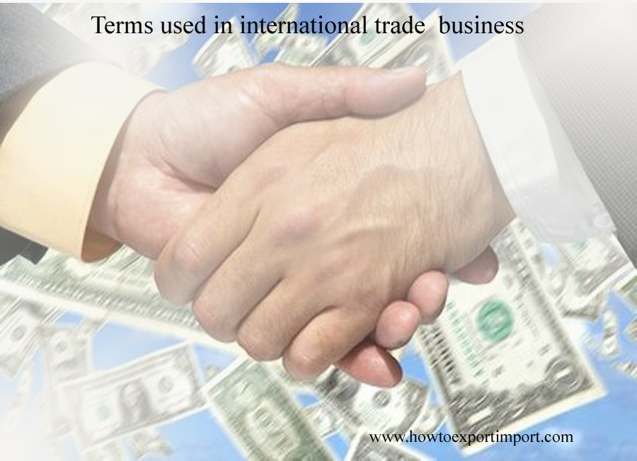 documents used in international trade pdf