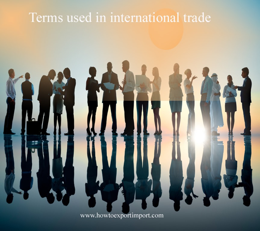 Terms used in option trading