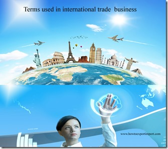 Terms used in international trade  business such as Inner packaging ,Inspection certificate,Insurance Certificate,Integrated carrier,