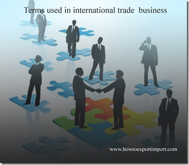 Terms used in international trade business such as Packing List,Passenger-carrying aircraft,Paying bank