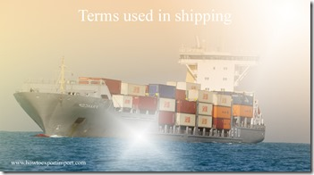 Terms used in shipping such International Banking Act,Interbank Offered Rate, International Accounting Unit, Ice Clause etc