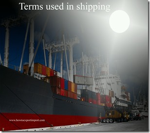 Terms used in shipping such as Air Waybill,Airbus Industries Group,Air Freight Forwarder,Alliance,All Risk Insurance etc