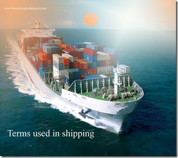 Terms used in shipping such as American Business Initiative,Andean Group , Anniversary Date,Antidumping Duty etc