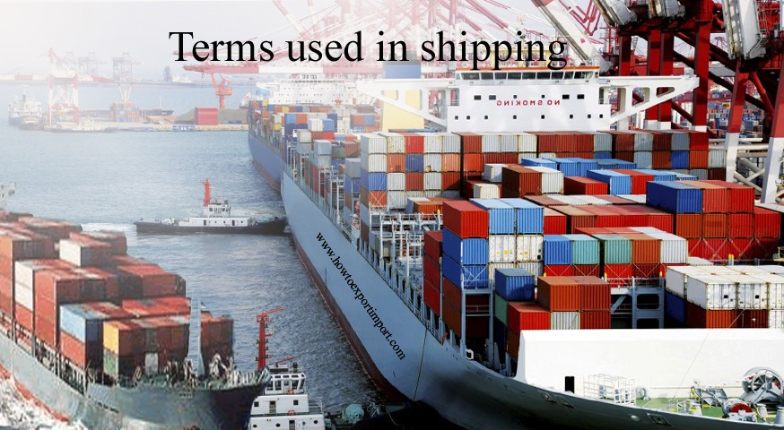 Terms Used In Shipping Such As Estimated Time Of Arrival